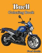 Buell: Coloring Book: motorcycle coloring book