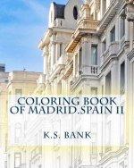 Coloring book of Madrid.Spain II