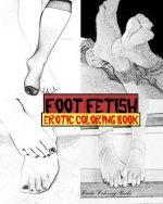 Foot Fetish Erotic Coloring Book
