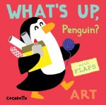 Whats Up Penguin Art