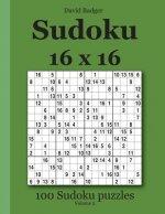 Sudoku 16 x 16: 100 Sudoku puzzles Volume 2