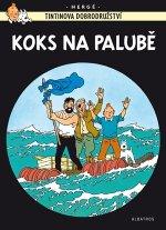 Tintinova dobrodružství Koks na palubě