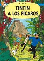 Tintinova dobrodružství Tintin a los Pícaros