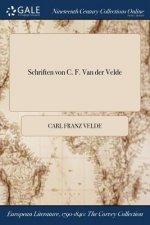 Schriften Von C. F. Van Der Velde