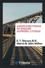 Annotated poems of English authors