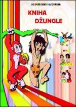 Kniha džungle Rozprávková maľovanka