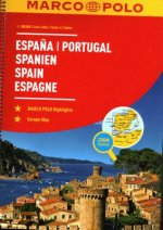 Spain and Portugal Marco Polo Road Atlas