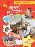 Aktivity s nálepkami Hravé kočičky