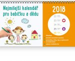 Nejmilejší kalendář pro babičku a dědu - stolní kalendář 2018