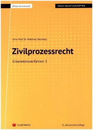 Zivilprozessrecht Erkenntnisverfahren 3