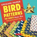 Origami Paper - Bird Patterns - 6 inch (15 cm) - 100 sheets