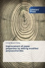 Improvement of paper properties by adding modified polysaccharides