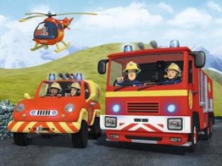 Puzzle Požárník Sam na výjezdu