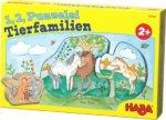 1, 2, Puzzelei - Tierfamilien (Kinderpuzzle)