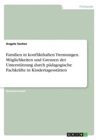 Familien in konflikthaften Trennungen. Möglichkeiten und Grenzen der Unterstützung durch pädagogische Fachkräfte in Kindertagesstätten