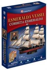 Puzzle 3D Esmeralda Vessel - 306 dílků