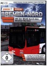 OMSI 2 AddOn Bremen - Nord, 1 CD-ROM
