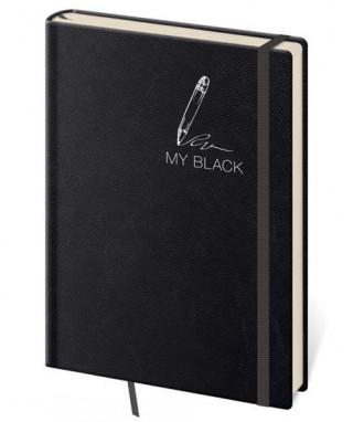 Zápisník My Black S tečkovaný