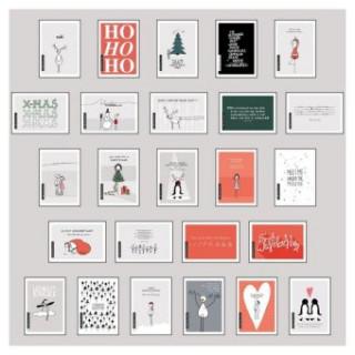 Postkarten-Set Weihnachten. Tl.1