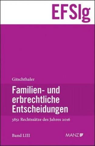 Familien- und erbrechtliche Entscheidungen