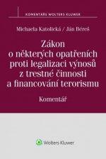 Zákon o některých opatřeních proti legalizaci výnosů z trestné činnosti a financ
