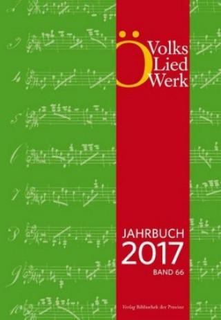 Österreichisches Volksliedwerk, Jahrbuch 2017, Band 66