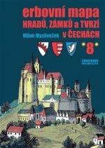 Erbovní mapa hradů, zámků a tvrzí v Čechách 8