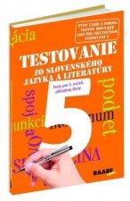 Testovanie zo slovenského jazyka a literatúry 5 Testy pre 5. ročník