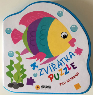 Zvířátka puzzle pro nejmenší