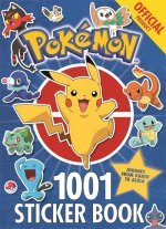 Official Pokemon 1001 Sticker Book