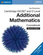 Cambridge IGCSE (TM) and O Level Additional Mathematics Coursebook