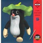 Škrabací obrázky Panda a Little Mole - červené