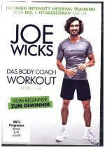 JOE WICKS - Das Body Coach Workout - Level 1-4 - (HIIT - High Intensity Interval Training), 1 DVD