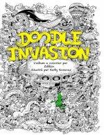Doodle Invasion: L'album a colorier par Zifflin