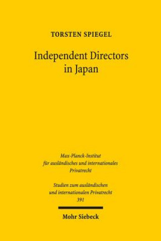 Independent Directors in Japan