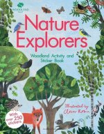 Woodland Trust: Nature Explorers Woodland Activity and Sticker Book