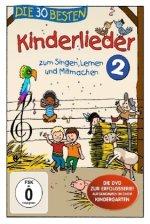 Die 30 besten Kinderlieder. Vol.2, 1 DVD
