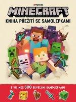 Minecraft Kniha přežití se samolepkami