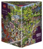 Tanck, B: Party Cats Puzzle 1000 Teile
