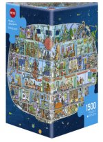 Adolfsson, M: Spaceship Puzzle 1500 Teile