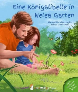 Eine Königslibelle in Neles Garten