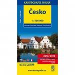 Česko 1:500 000 automapa
