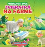 Zvieratká na farme Zvuková kniha