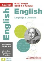 WJEC Eduqas GCSE 9-1 English Language and Literature All-in-One Complete Revision and Practice