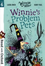 Read with Oxford: Stage 6: Winnie and Wilbur: Winnie's Problem Pets
