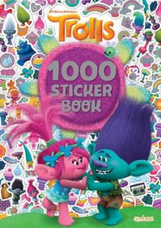 Trolls - 1000 Sticker Book