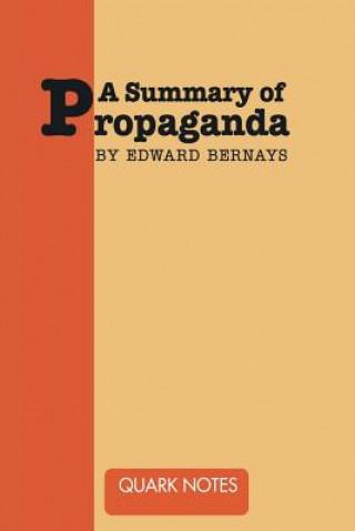 Summary of Propaganda by Edward Bernays