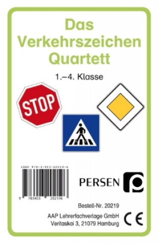 Das Verkehrszeichen-Quartett, Kartenspiel
