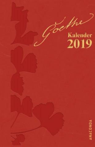 Goethe Kalender 2019