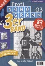 Profi-Nonogramm 3er-Band. Nr.3